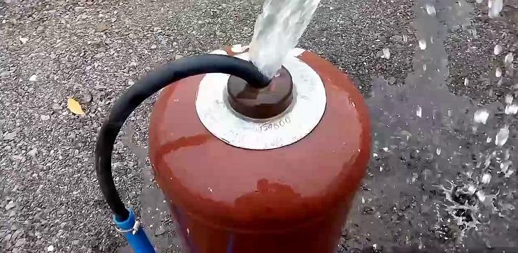 Подготовка газового баллона